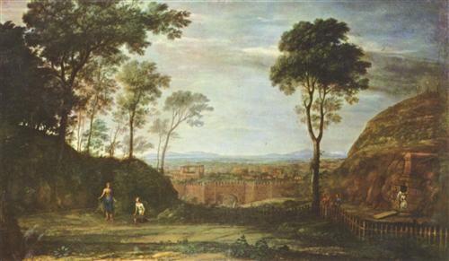 Claude Lorrain – Manhã de Páscoa, 1681