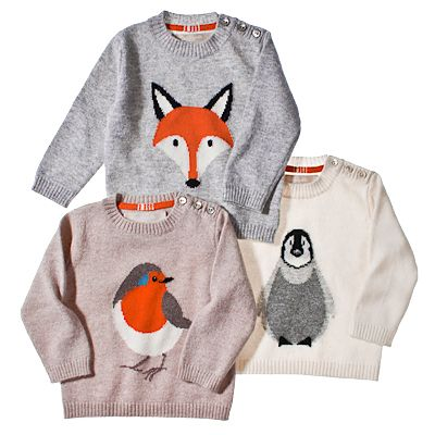 We're giving these to every kid on our list. Christopher Fischer Cashmere Animal Sweater