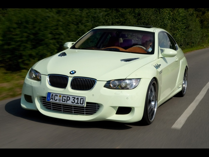 2007 AC Schnitzer GP3.10 Concept based on BMW 3-Series