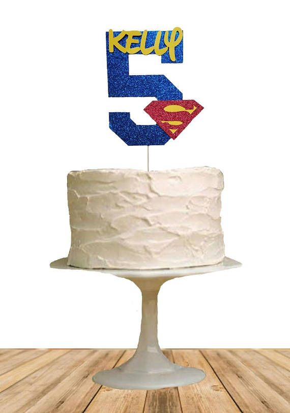 Check out this item in my Etsy shop https://www.etsy.com/listing/572541239/superman-cake-topper-superhero-cake