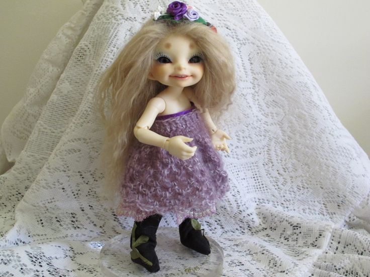 Fairyland Realfee bjd Dress, Boots and headband by panzeepotters on Etsy