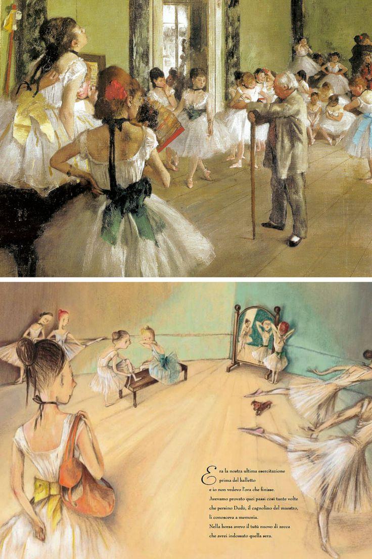 Il libro di Eva Montanari ci porta a inseguire il grande artista Edgar Degas per le vie di Parigi e a immergerci nell'atmosfera dei quadri impressionisti...