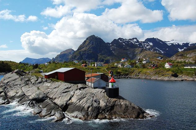 Diving in Lofoten Norway