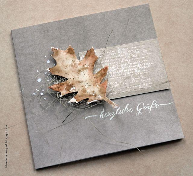 Blütenstempel: Herbstlich...