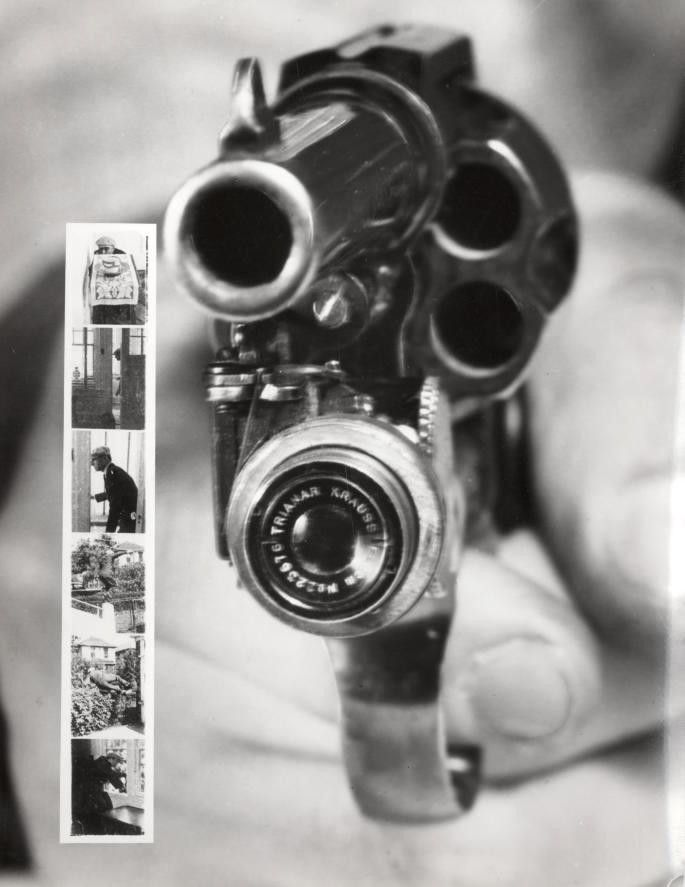 Revolver Camera weird inventions technology