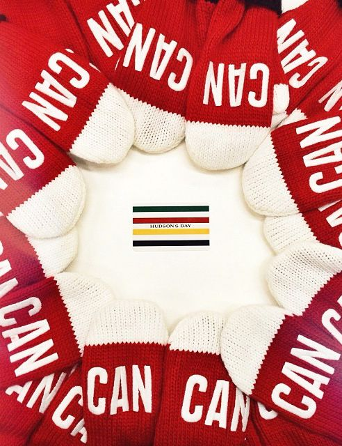 Mittens designed by Hudson Bay Company for the Sochi Olympics! #MKM915 #hudsonsbay #mitten