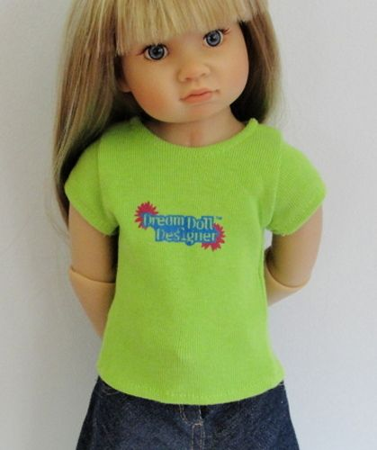 $5 green jersey Dream Doll Designer tee - 3  available