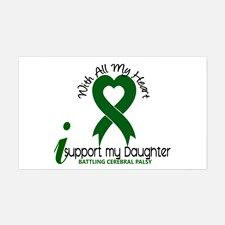 With All My Heart Cerebral Palsy Decal for