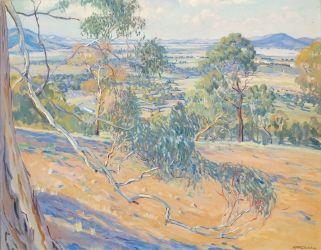 Canberra from Red Hill, 1927 Hilda Rix Nicholas