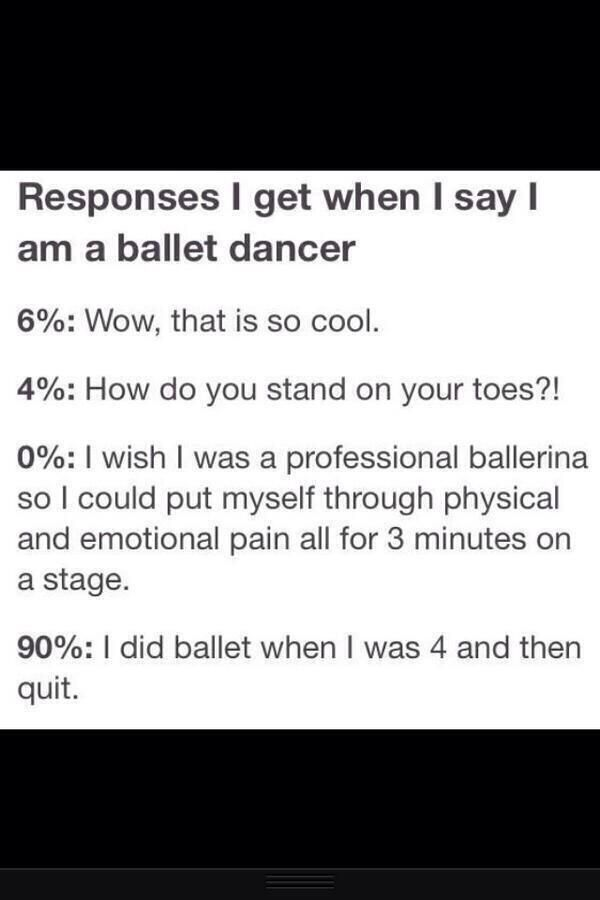 I think I speak for all dancers when I say this to the 90%: Yeah everyone did, IDC
