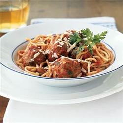 Camp David Spaghetti with Italian Sausage Allrecipes.com: Fun Recipes, Healthy Pasta Recipes, Italian Spaghetti, Marinara Sauces, Meatballs Recipes, Tasti Recipes, Sunday Dinners, Cooking Lights, Under 300 Calories