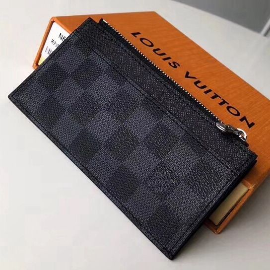Louis Vuitton Damier Graphite Coated Canvas Coin Card Holder