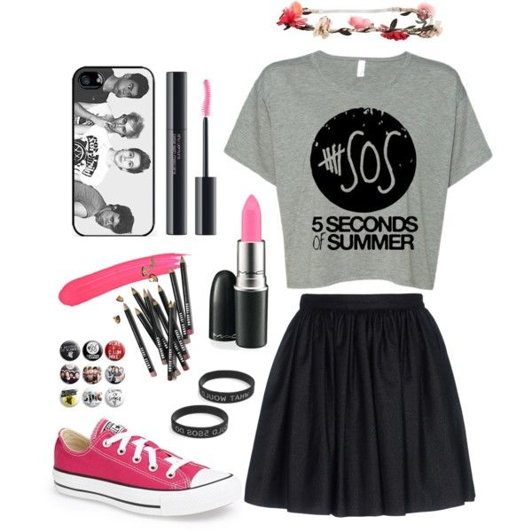 good outfits to wear to a 5sos concert | fashion 5sos concert outfits 5sos concert outfit idea created by ...