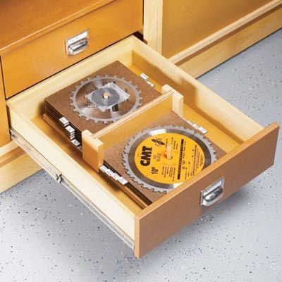 Unique Woodworking Plans Table Saw Blade Storage Ideas PDF Plans