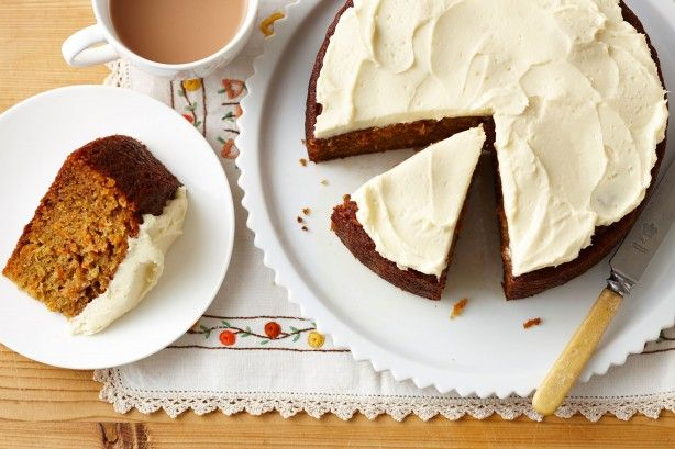 Sweetly spiced and smothered with cream cheese frosting. We're not surprised this has been an afternoon favourite for years.