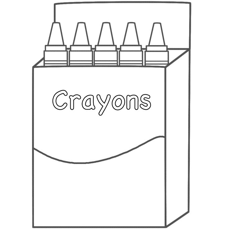 fashion for crayola crayons coloring pages