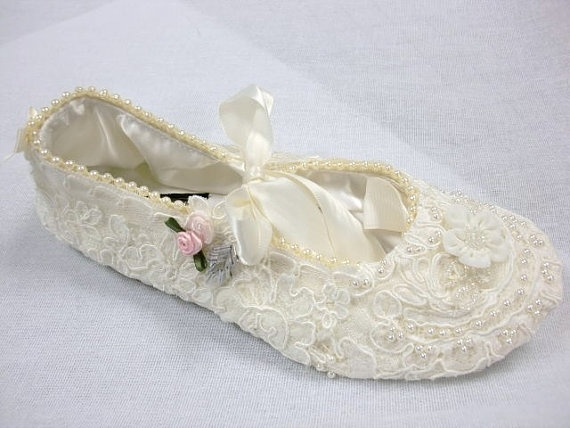 Wedding Ballet Slippers For Reception