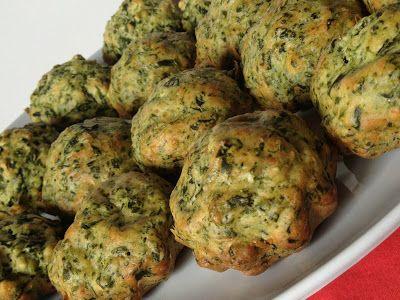 Muffins agli spinaci - Spinach Muffins