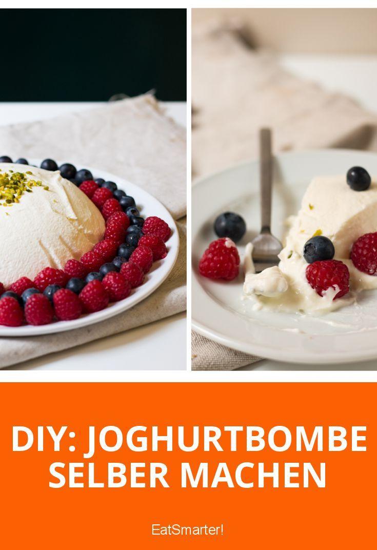 DIY: Joghurtbombe selber machen | Super cremig und fruchtig. Wie einfach es geht steht auf eatsmarter.de
