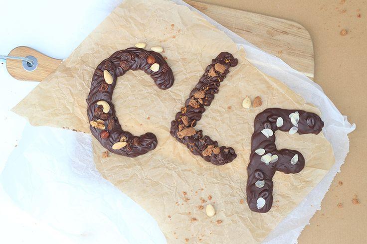 Sinner Sunday: 3x chocoladeletter zelf maken
