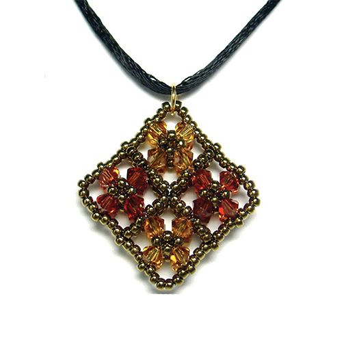 157 best right angle weave raw patterns images on pinterest fretted floral beaded pendant pattern bead patterns aloadofball Gallery
