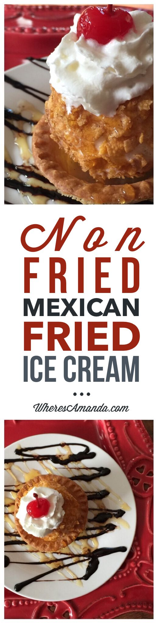 Non-Fried Mexican Fried Ice Cream