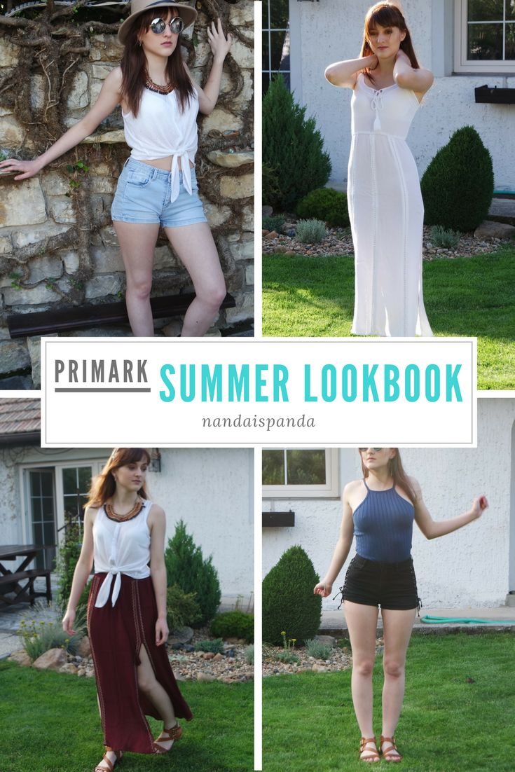 Primark summer lookbook, clothes, clothing, shopping, fashion, top, highwaisted shorts, light maxi dress, long dress, boho skirt, bohemian, accessories, hat