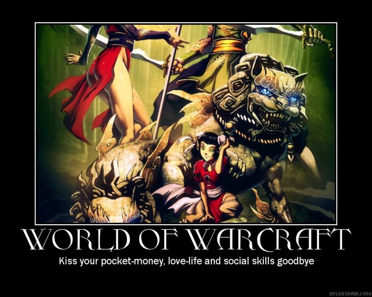 World Of Warcraft Inspirational Quotes: 139 Best Motivational Posters Images On Pinterest