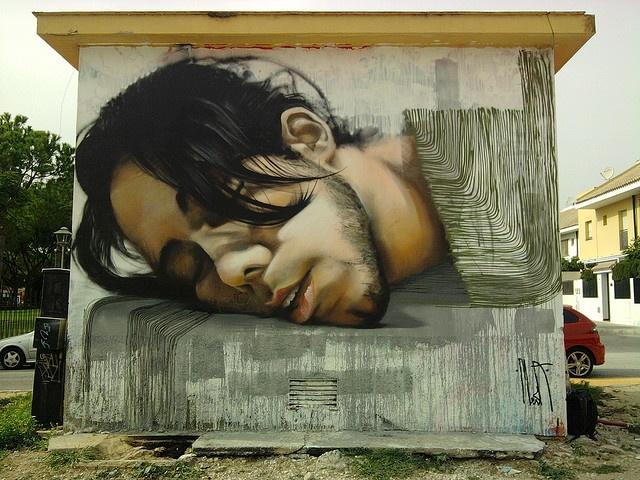 "Mesa, Spain. ""mario"" #streetart"