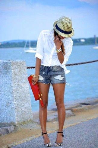 Comment porter une chemise de ville blanche en 2016 (596 tenues) | Mode femmes
