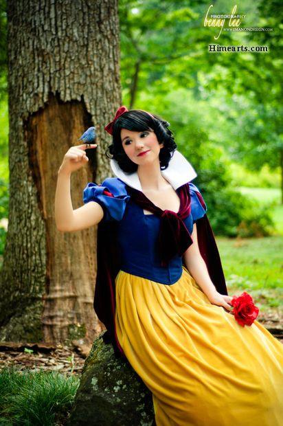 Snow White costume tutorial