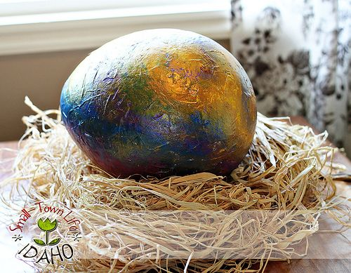 Dragon eggs. So want to do these with the kids now! Could work with how to train your dragon...