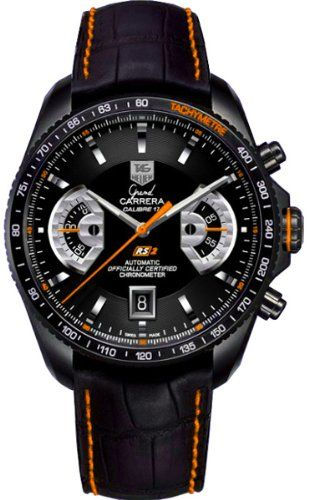 TAG HEUER GRAND CARRERA CAV518K.FC6268 GENTS TITANIUM CASE AUTOMATIC DATE WATCH   Your #1 Source for Watches and Accessories