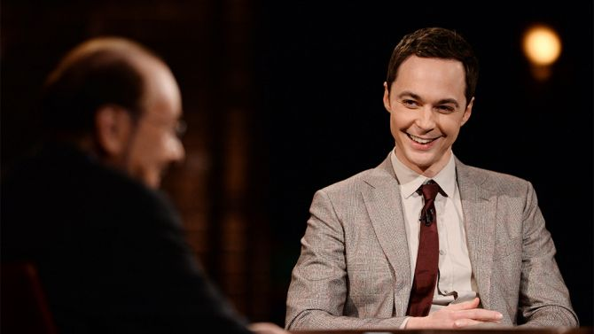 Jim Parsons appears on Inside the Actor's Studio.