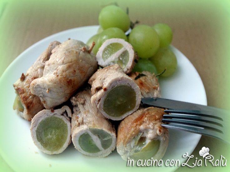 Involtini di maiale e uva - In cucina con Zia Ralù