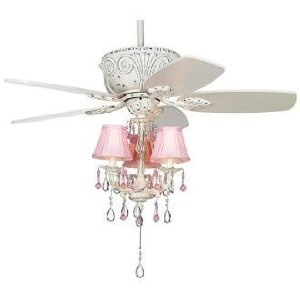 "43"" Casa Deville Pretty in Pink Pull Chain Ceiling FanDeville Pretty, Casa Deville, Ceiling Fans, Baileys Paris, Baby Stuff, Baby Shower, Chains Ceilings, Ceilings Fans, Room"