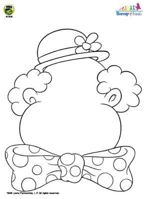 Maro's kindergarten: Clown crafts!
