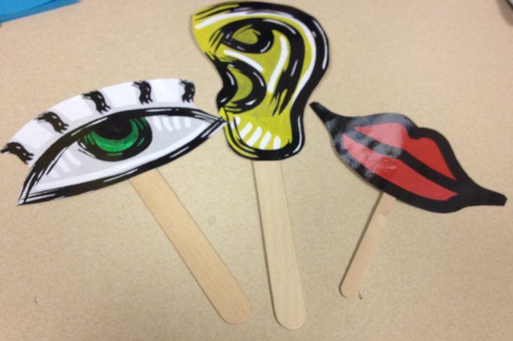 Also sticks for hands, feet, body:: Kindergarten Listening Skills Lesson | Music City School Counselor