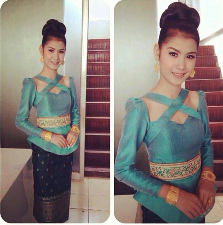 Laos - clothing - love the top