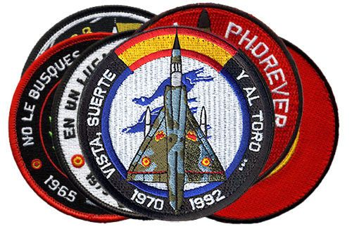 Parche-Mirage-III-Ejercito-del-Aire-Espana-Spanish-Air-Force-patch-Military