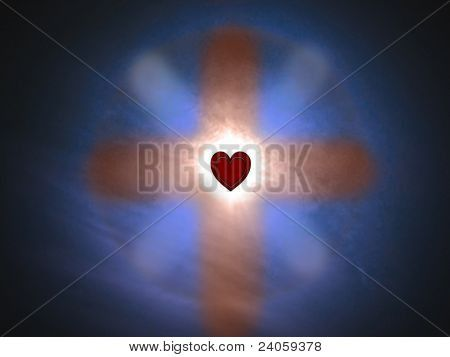 Cross of love