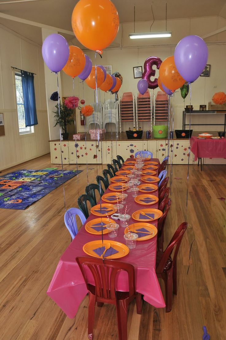 Here 39 s some fun dora birthday party ideas for your party for Dora themed bedroom designs