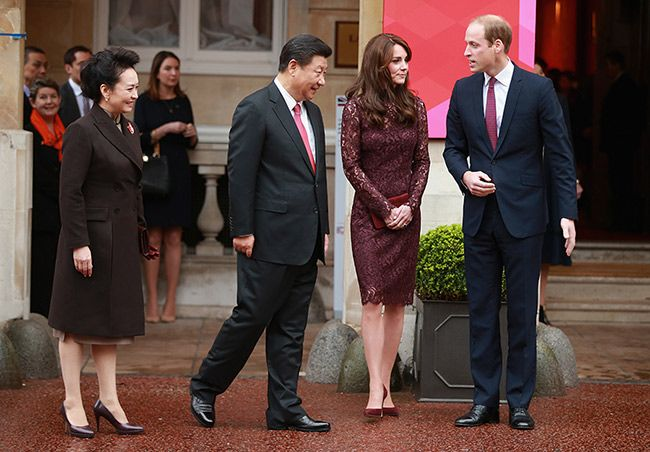 Prince William and Kate Middleton reunited with Chinese president: