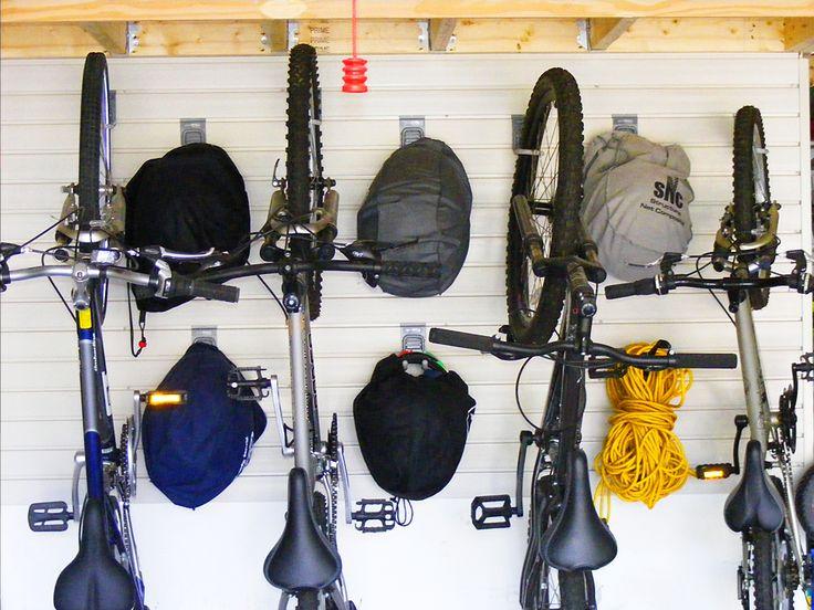 Bike Storage Solutions Slatwall Hooks Bicycle Wall Rack