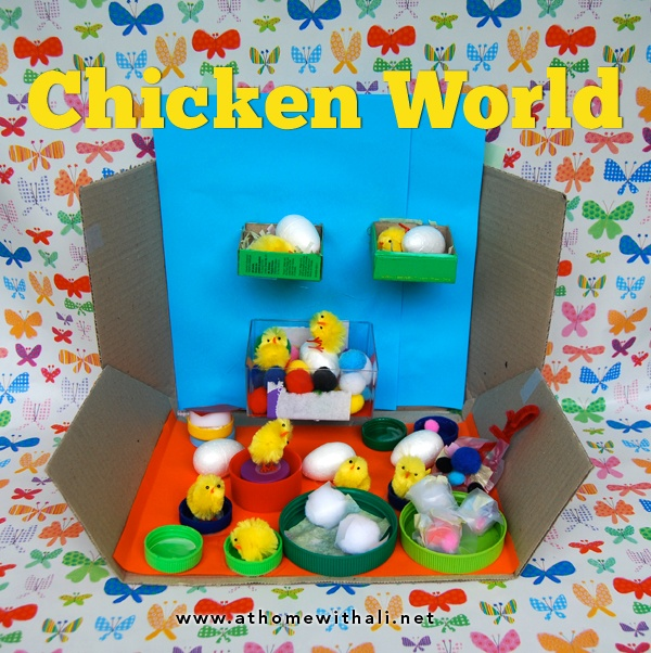 Chicken World – an Easter craft