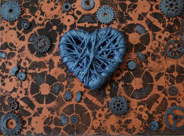 """Love conquers all"" (40 x 30 cm canvas) by Veronica Svanström"