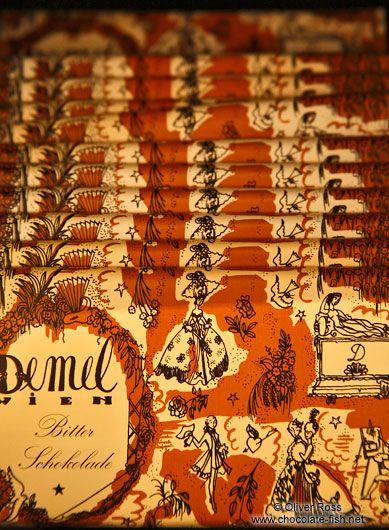 Demel Chocolate bars- Oliver Ross