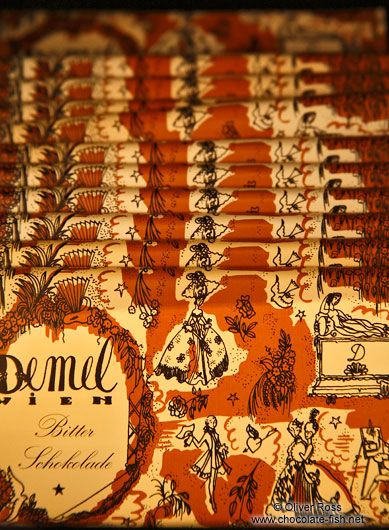 Demel Chocolate bars- Oliver Ross