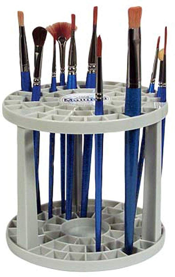 artist paint brush holder
