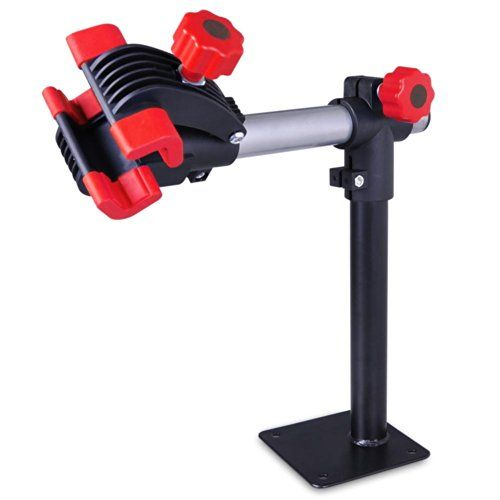 Blue Work Bench Mount Bicycle Repair Stand Mechanic Workstand - http://www.bicyclestoredirect.com/blue-work-bench-mount-bicycle-repair-stand-mechanic-workstand/